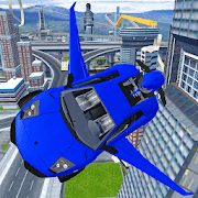 Futuristic Flying Car Real Drive 3D 2018