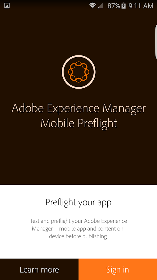 AEM – Mobile Preflight- screenshot
