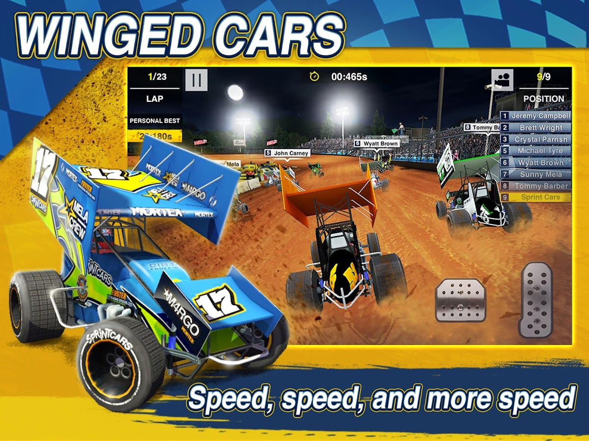 Dirt Trackin Sprint Cars- screenshot