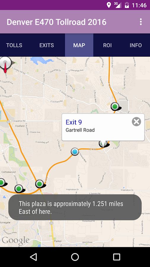 denver e 470 toll road 2017 android apps on google play