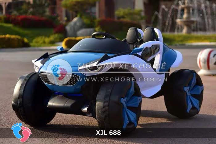 Xe ô tô điện địa hình cho bé XJL-688 22
