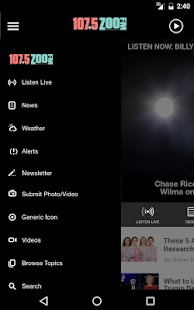 Zoo 107.5 FM (KENR-FM)- screenshot thumbnail