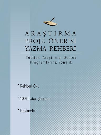 Proje Önerisi Yazma Rehberi