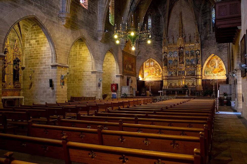 kościół św. Jakuba, wnętrze