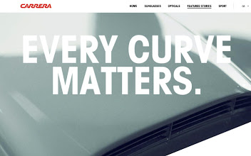 Photo: Site of the Day 8 May 2013 http://www.awwwards.com/web-design-awards/carrera-world-1