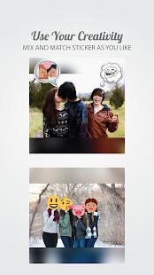 2 Square Emoji Sticker - Photo App screenshot
