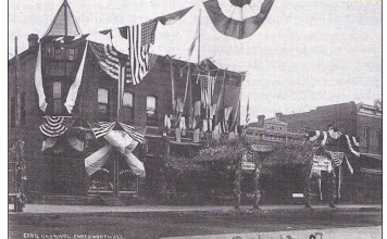 Photo: Corn Carnival Postcard dated 1907