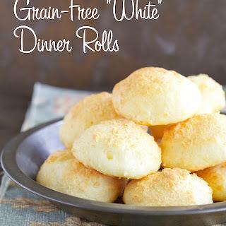 """Grain-Free """"White"""" Dinner Rolls"""