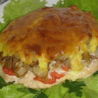 Meat with Mushrooms Recipe