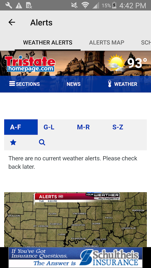 Tristate Weather - WEHT WTVW- screenshot
