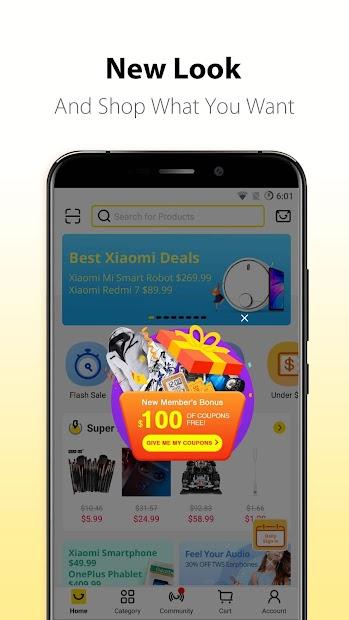 Gearbest Online Shopping Android App Screenshot