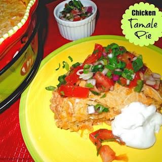 Chicken Tamale Pie.