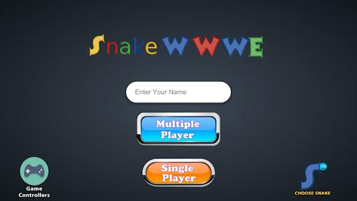 Snake WWWE screenshot