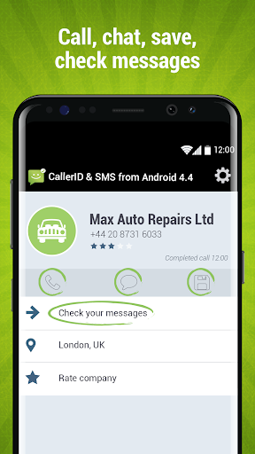 CallerID & SMS from Android 4.4 screenshot 6