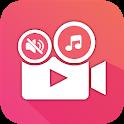 Video Sound Editor: Add Audio, Mute, Silent Video icon