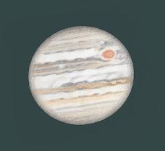 Photo: Jupiter le 1er décembre 2016, à l'aube et plus de 4 mois avant la date d'opposition. T406 à 350X en bino.