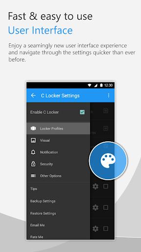 C Locker Free (Widget Locker) screenshot 1