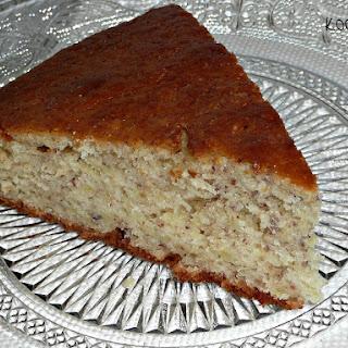 Apple and Hazelnut Cake.