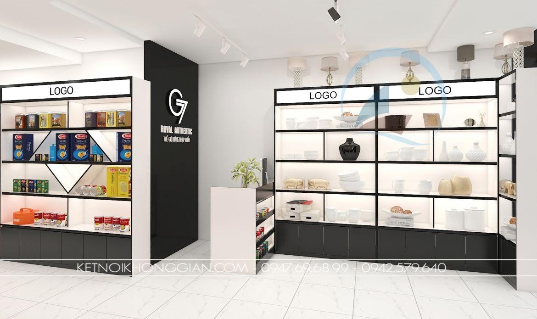 Thiết kế cửa hàng đồ nhập khẩu - thiết kế shop đồ nhập khẩu 2