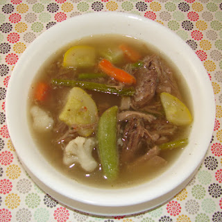 Italian Beef {Leftovers} Soup Recipe