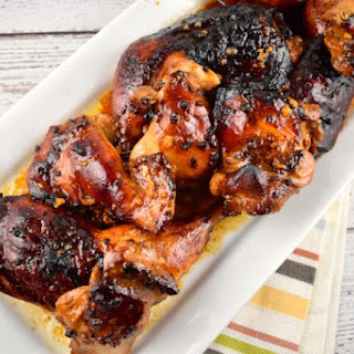 Roasted Honey-Soy Glazed Chicken Recipe
