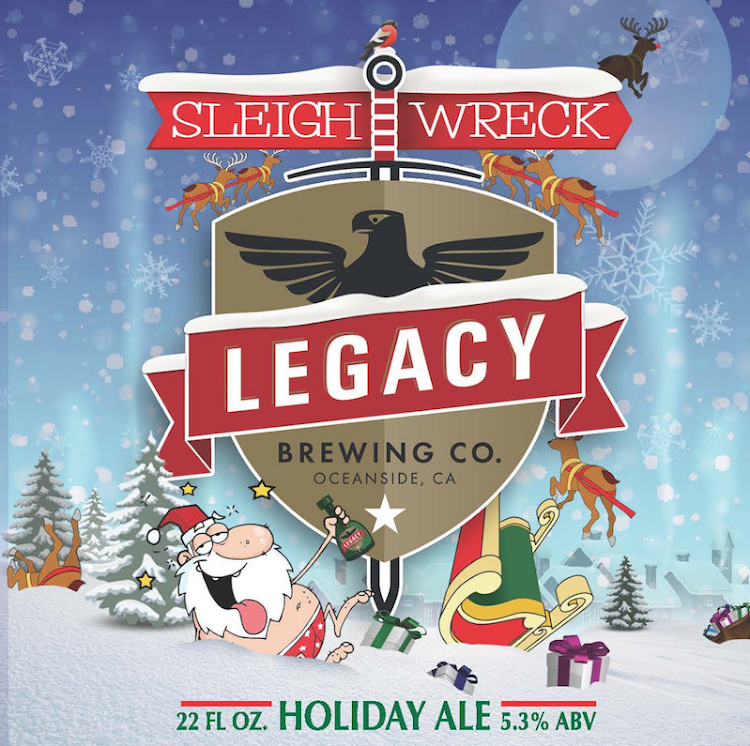 Logo of Sleighwreck Holiday Ale
