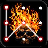 Skull Pattern Lock Screen APK icon