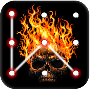Skull Pattern Lock Screen APK Download for Android