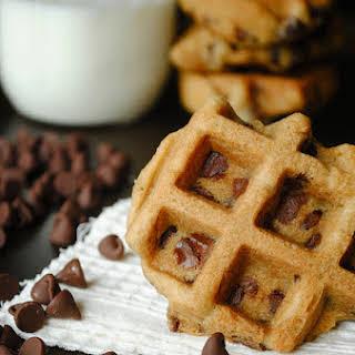 Chocolate Chip Waffle Cookies.