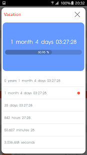 Countdown Calendar - Free- screenshot thumbnail
