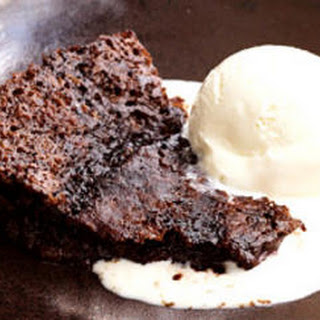Chocolate Rum Pudding Cake