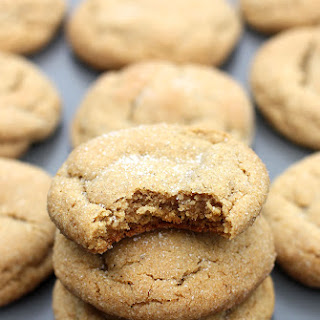 Soft and Chewy Ginger Molasses Cookies