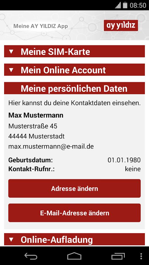 AY YILDIZ Prepaid - screenshot