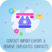 Delete Multiple Contacts & Import/Export Contacts