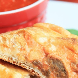 Mini Meatball Calzones.