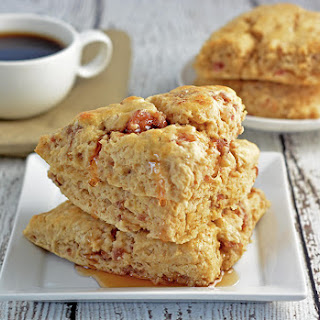 Starbucks Maple Sausage Scone.