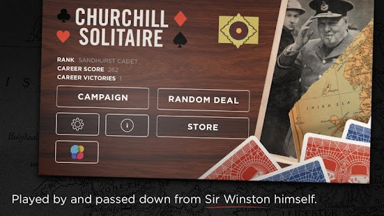Churchill Solitaire Card Game- screenshot thumbnail