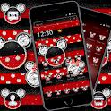 Red and Black Diamond Micky Theme 💎 icon
