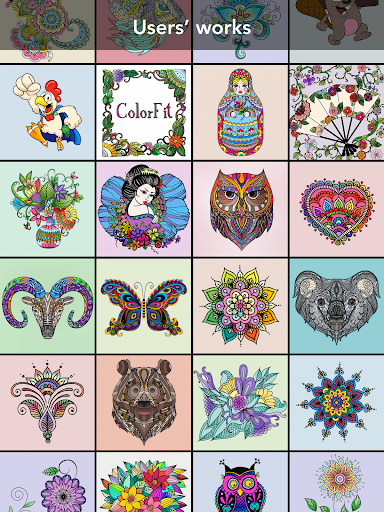 Colorfit Coloring book|玩休閒App免費|玩APPs
