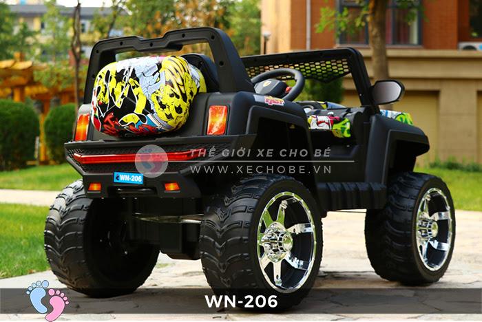 Xe hơi điện địa hình cho bé WN-206 2