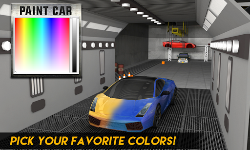 Multi-Storey Car Parking Spot 3D: Auto Paint Plaza filehippodl screenshot 4