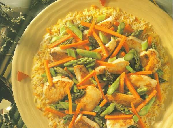 Simple Asparagus Chicken Recipe