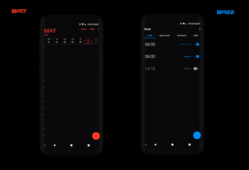 PitchBlack S╶ Samsung Substratum Theme Oreo/One Ui Screenshot 4