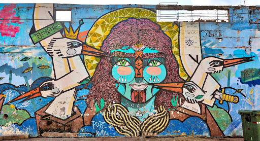 Cartegena-street-art.jpg - Street art in the Getsemani neighborhood of Cartagena.
