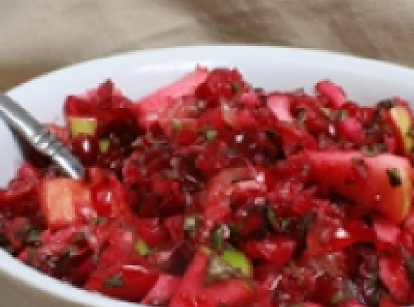 Cranberry Salsa (kicked-up For Thanksgiving) Recipe