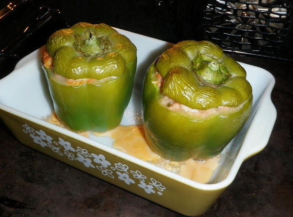 Sherry's Mom's Stuffed Bell Peppers Recipe