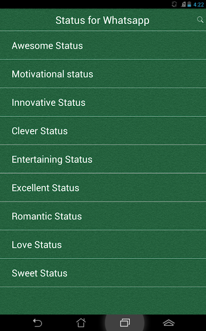 #17. Status for Whatsapp (Android)