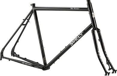 "Surly Disc Trucker 26"" Frameset Bituminous Gray or Hi-Vis Black alternate image 4"