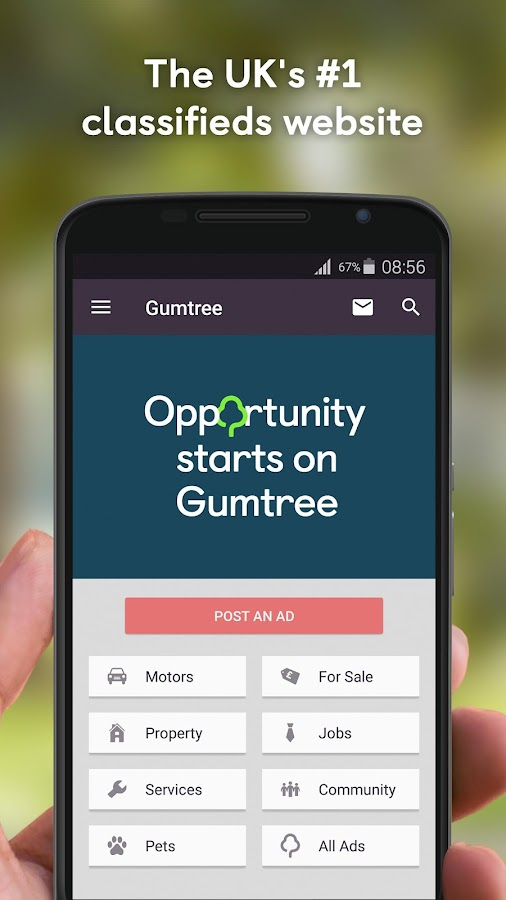 Gumtree Beta- screenshot
