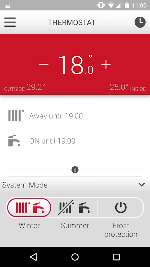 MiGo. Your Heating Assistant- screenshot